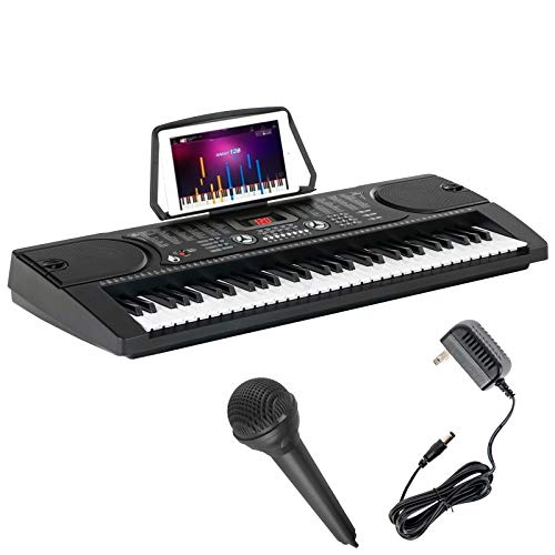 LAGRIMA 61-Key Portable Electric Piano Keyboard