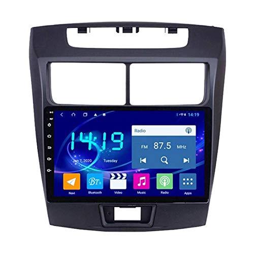 Android 8.1 GPS Navigation Car Radio Player para Toyota Avanza 2010-2016, Controles del Volante/FM/Bluetooth/WiFi/Enlace De Espejo/Cámara De Visión Trasera,8 Core-WiFi: 4+64G