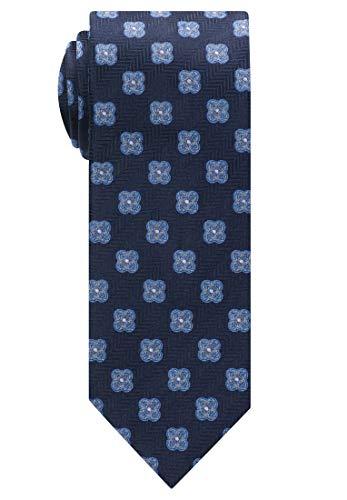 eterna Krawatte Breit gemustert