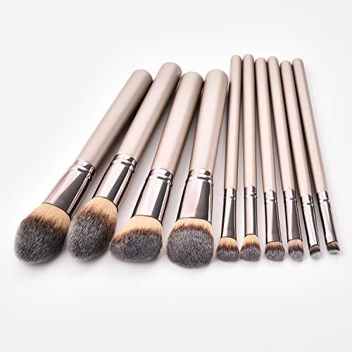 REDBAX Professionelle Schminkpinsel Make-up Pinselset Kosmetikpinsel Lidschatten mit elegantem...