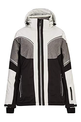 Killtec Damen ABA Colourblock Skijacke, schwarz, 44