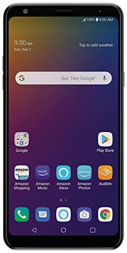 LG Stylo 5 with Alexa Push-to-Talk – Unlocked – 32 GB – Black (US Warranty) (Renewed)