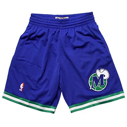 Mitchell & Ness Dallas Mavericks 1998-1999 Swingman NBA Shorts Blau, XL