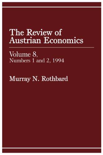 Review of Austrian Economics, Volume 8 (English Edition)