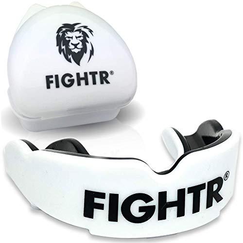 FIGHTR® Premium Protector bucal – respiración Ideal & fácil de Ajustar, protección...