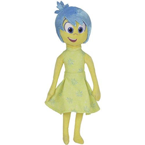 Disney Inside Out, Plüschfigur Joy, 25cm hoch, für Kinder ab 0 Monaten: Alles Steht Kopf Stoff Puppe Plüsch Figur Weichpuppe Plüschtier