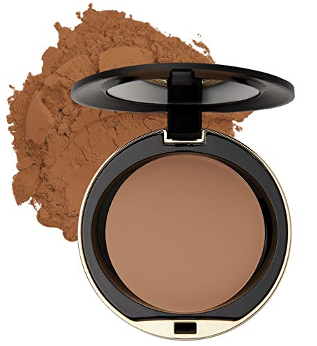 Milani Conceal + Perfect Shine-Proof Powder - (0.42 Ounce) Vegan, Cruelty-Free Oil-Absorbing Face Powder that Mattifies Skin and Tightens Pores (Dark Deep)