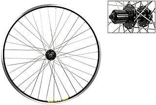 Wheel Master 700c Disc Rear Wheel - QR, 36H, 8-Speed Cassette, Black MSW