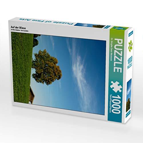 CALVENDO Puzzle Auf der Wiese 1000 Teile Lege-Größe 48 x 64 cm Foto-Puzzle Bild von Brigitte Deus-Neumann