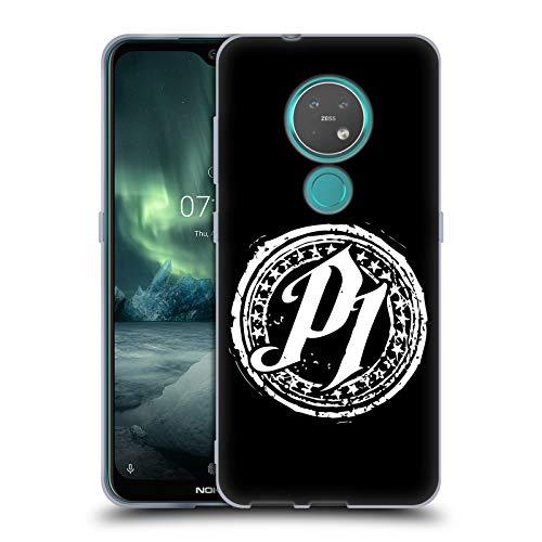 Head Hülle Designs Offizielle WWE P1 Aj Styles Soft Gel Handyhülle Hülle Huelle kompatibel mit Nokia 6.2/7.2