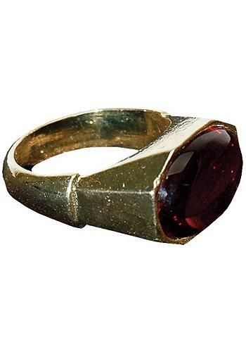 Master Replicas Pirates Of The Caribbean: Jack Sparrow Stolen Ring Replica (accesorio de disfraz)