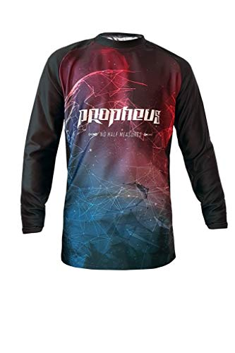 PROPHEUS MTB/MX Kids Kinder Jersey Intergalactic Langarm Downhill, Enduro und Motocross (Kids XL)