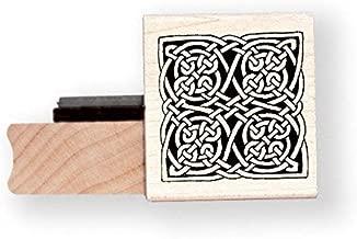 Celtic Knot rubber stamp - BR004E