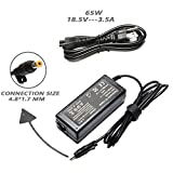 DV6000 DV6500 DV6700 65W AC Adapter Charger for HP Pavilion DV1000 DV2000 DV4000 DV5000 DV8000 DV9000 DV9500, Compaq Presario 510 515 610 C300 C500 C700 A900 F700, 9155068 393954001 Power Supply Cord