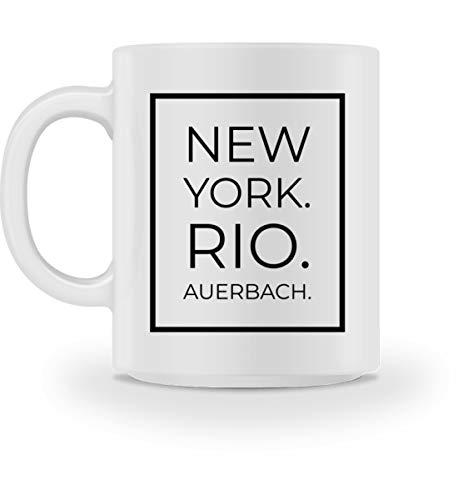 Auerbach - Tasse -M-Weiß