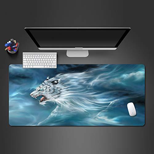 Alfombrilla de ratón Personalidad cojín de ratón Creativo de Goma Accesorios de Juego de Alta definición Juego de Mouse 900X400X2MM