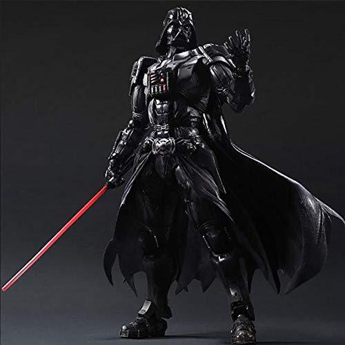 YXCC PA cambio a Estatua de Star Wars Estatua Jedi Estatua de Guerrero Negro Modelo de Figura de accion de Darth Vader