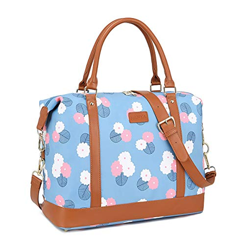 Find Discount Carry On Tote Bag Women Ladies Travel Bags Weekender Overnight Duffel Tote with Luggag...