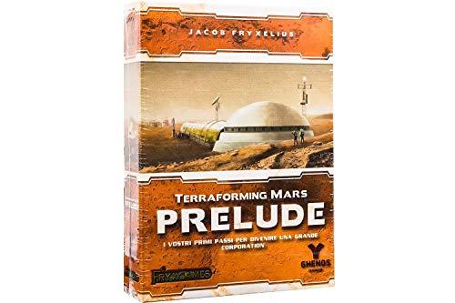 Ghenos Games–terraforming Prelude [Expansión para terraformin Mars], Multicolor, tmpr