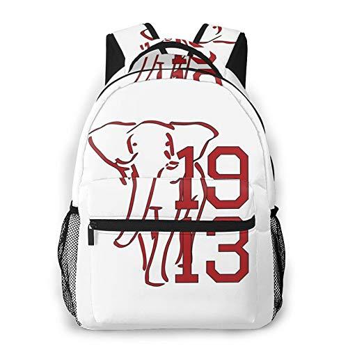 Sigma Theta Fashion Backpack for Girls Boys 3D Design Print Cute School Bag Bookbag Daypack