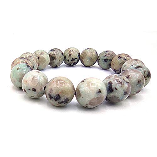 Rainbow Moonstone Bracelet for Fengshui Chakra Aura Personal Reiki Healing Crystals (Beads Size 12mm with Jute Bag)