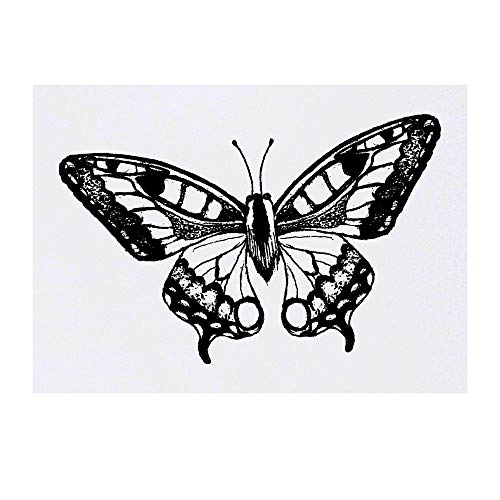 Azeeda Grand 'Magnifique Papillon' Tatouages temporaires (TO00024219)