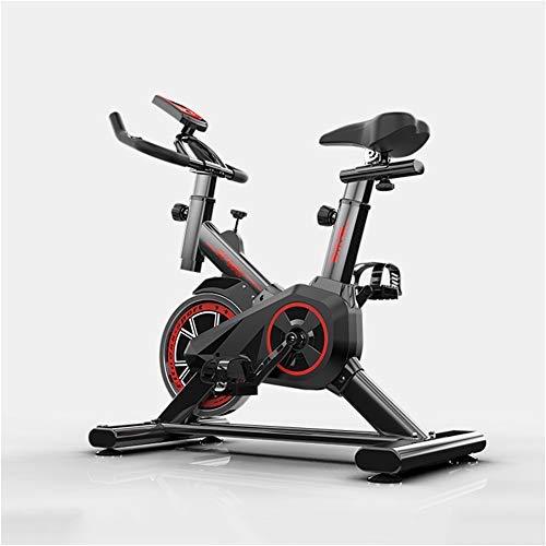 Manillar /& Sill/ín Son Ajustables en Altura Fitness TXDWYF Bicicleta Spinning Profesional Magnetica Bicicleta Indoor de Rueda de Inercia de 6 kg Adultos Unisex Bicicleta Est/ática
