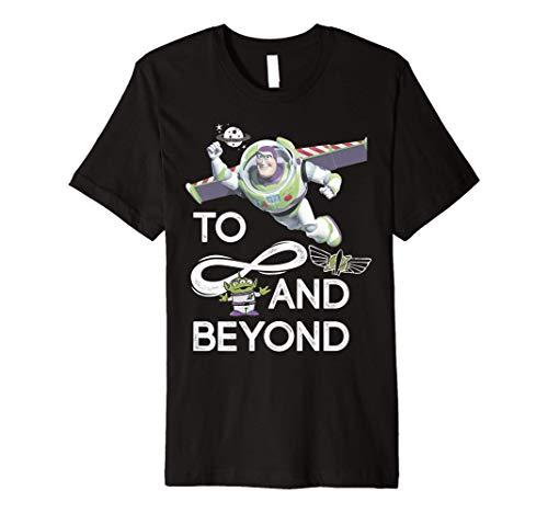 Disney Pixar Toy Story Buzz & Alien To Infinity And Beyond Premium T-Shirt
