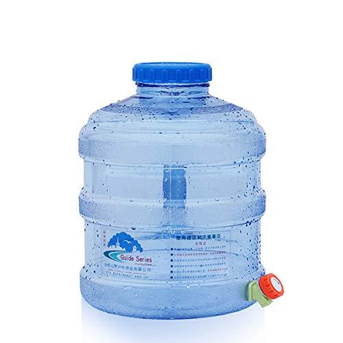 Bidón de agua Bidón Con Grifo Espesamiento El Plastico Contenedor De Agua Con Manejar, Emergencia Tanque De Agua Del Coche Almacenamiento De Agua Por Cámping Excursionismo Caza Al Aire Libre Tour Sin