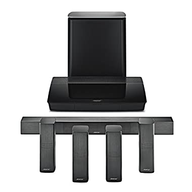 Bose Lifestyle 650 Home Entertainment System, works with Alexa, Black