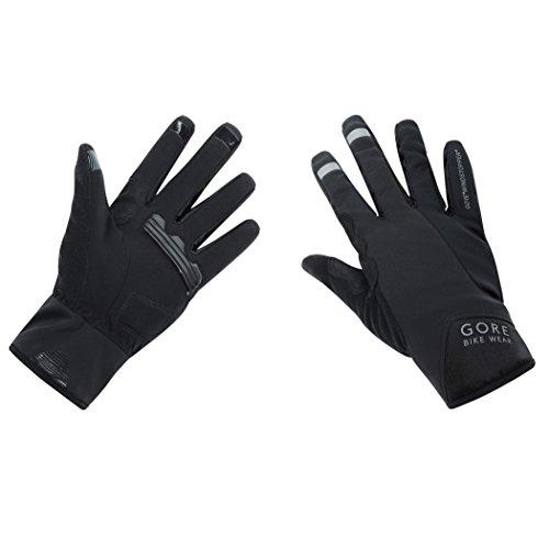 GORE WEAR Herren Power Windstopper Handschuhe, Schwarz, 10