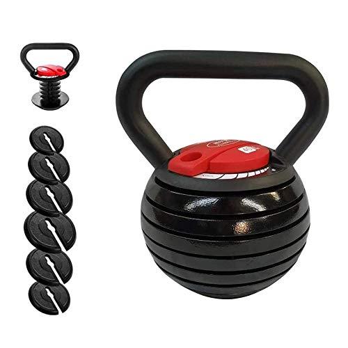 SONGZO Kettlebell Ajustable 40 Libras (18 kg), Satisface Diferentes Necesidades de Ejercicio,...