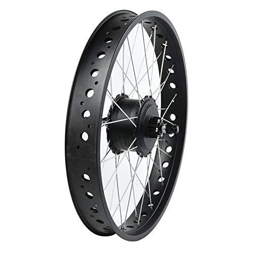 Weikeya mi-Bicicleta Ebike Conversión Equipo, Poder Suministro 20 Pulgadas Instrumento Panel Impermeable Eléctrico Bicicleta Mezcla por Trasero Conducir Casete Volante