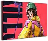 Coobals Valorant - Cuadro decorativo para pared (30,5 x 40,6 cm), diseño de Killjoy