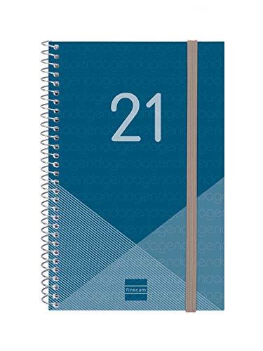 Finocam 745021021 Agenda 2021 Semanal con encuadernación en...