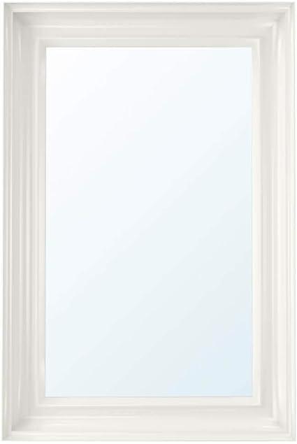 Ikea Asia Hemnes Specchio Bianco Amazon It Casa E Cucina