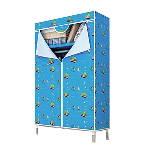 HPYR - Armario de almacenamiento modular Oxford para estudiantes, plegable, impermeable, 6 unidades