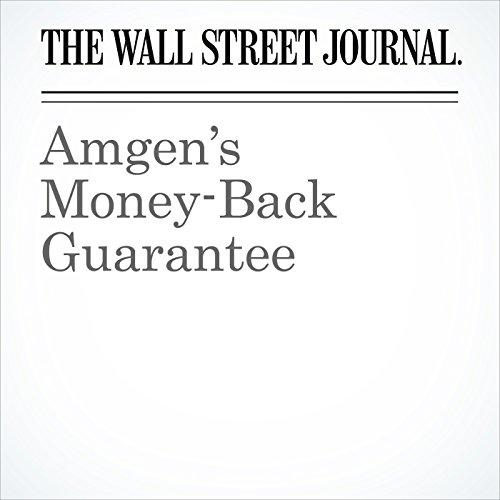 Amgen's Money-Back Guarantee copertina