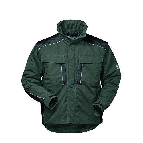 Elysee Canvas Winterjacke Arbeitsjacke Outdoorjacke, hochwertig mit vielen Taschen (4XL, Grau/Schwarz)