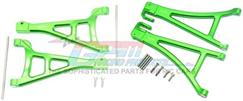 Entrega directa y rápida de fábrica Traxxas E-Revo 2.0 VXL Brushless (86086-4) (86086-4) (86086-4) Upgrade Parts Aluminium Front Suspension Arm Set (Upper+Lower) - 4Pc Set verde  calidad de primera clase