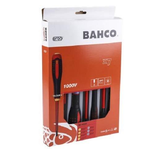 Bahco BE-9888S BHBE-9888S, Set de 7 Piezas
