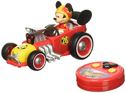 Jada Toys Disney Mickey Roadster Racer RC Vehicle Red, Standard