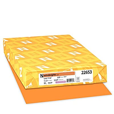Neenah Astrobrights Premium Color Paper, 24 lb, 11 x 17 Inches, 500 Sheets