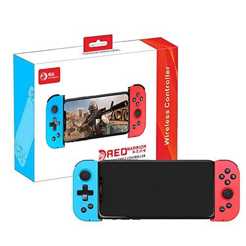 ZKAIAI X6伸縮式Bluetoothゲームコントローラ無線ゲームパッドトリガージョイスティックiOSのAndroid Phone PCのPCテレビボックスジョイパッド (Color : A)