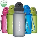 KingCamp Tritan - Botella de Agua (400/500/650/1000 ml, sin BPA)
