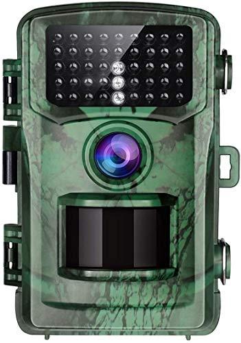 MC.PIG Actualizar Caza Cámaras-Trail cámara de 16MP 1080P Juego Caza Cámaras con visión nocturna resistente al agua 2