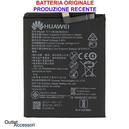 Accu batterij originele Huawei P10 HB386280ECW VTR-L09 AL00 Oem New Interna BULK Jaar 2018 reserveonderdelen accu originele accu voor mobiele telefoon