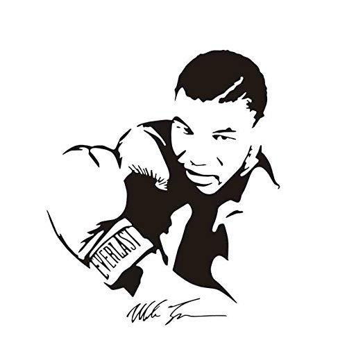 mlpnko Boxhandschuhe Tyson Aufkleber Kick Boxer Spiel Auto Aufkleber Free Fight Poster Vinyl Vorwand Aufkleber Dekoration 60x70cm