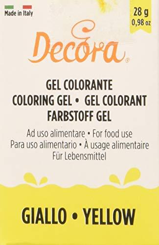 Decora Colorante En Gel Amarillo 28 g