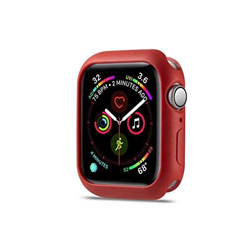 LGFCOK 44 mm 40 mm Funda Protectora de Silicona Suave para Apple Watch Series5 4 Cubierta de protección Shell para iWatch 4 5 40 mm 44mm Reloj Parachoques